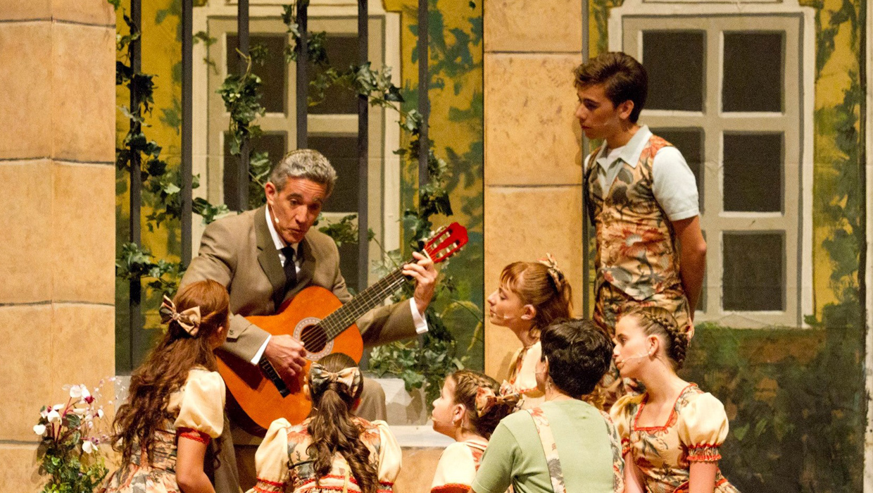 actores en sound of music